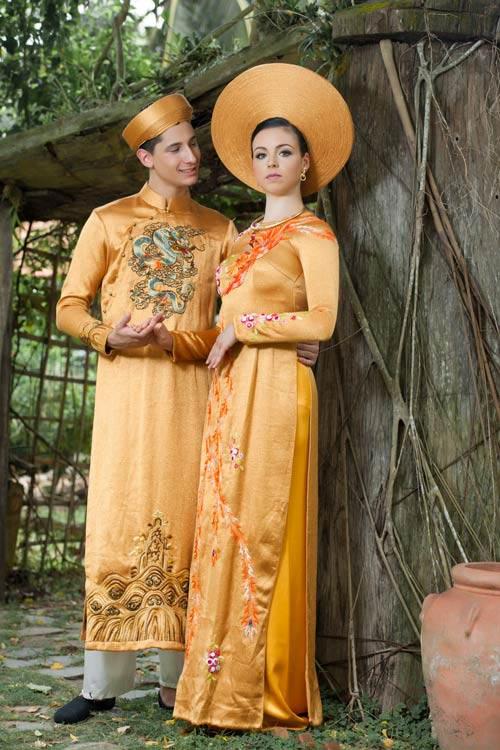Vũ công BNHV đẹp lạ với áo dài Việt - 7