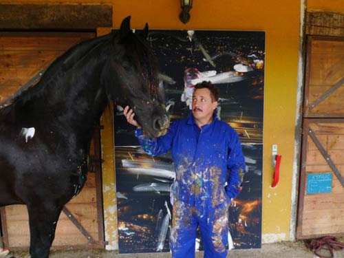 """Những bức tranh đắt giá của """"họa sĩ""""… ngựa - 4"""