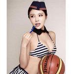 Thể thao - Ngắm mỹ nhân lả lơi bên trái bóng rổ