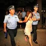 """Tin tức trong ngày - Công an Trung Quốc """"hành hạ"""" gái mại dâm"""
