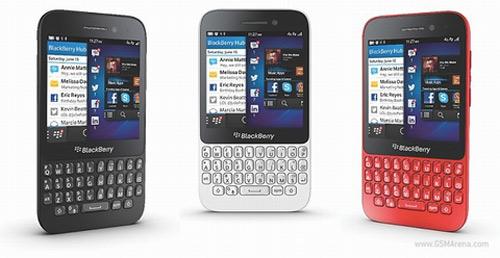 """BlackBerry công bố """"dế"""" Q5 đời mới giá rẻ - 2"""