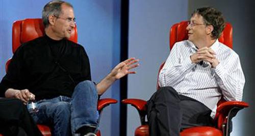 Bill Gates thú nhận kém xa Steve Jobs - 1