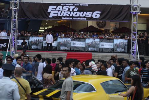 "Fast 6 gây ""cuồng loạn"" Manila - 2"