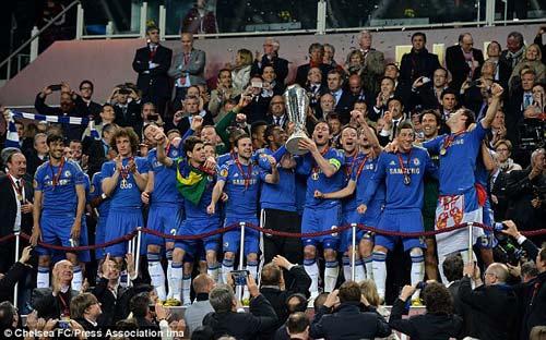 Chùm ảnh: Chelsea trên đỉnh vinh quang - 2