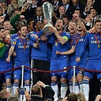 Chùm ảnh: Chelsea trên đỉnh vinh quang
