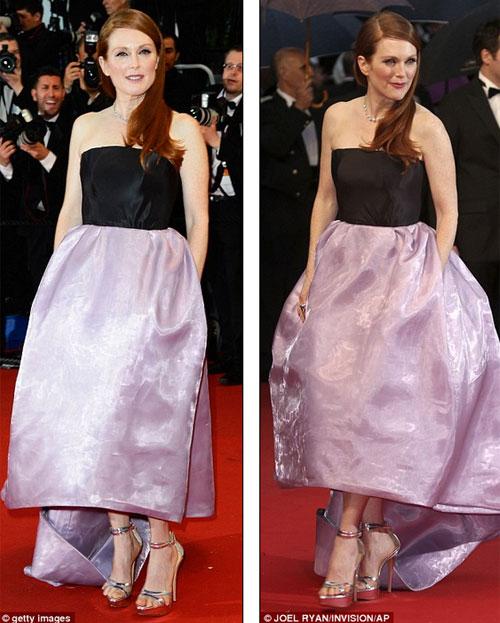 Cindy Crawford hút mắt ở thảm đỏ Cannes - 14