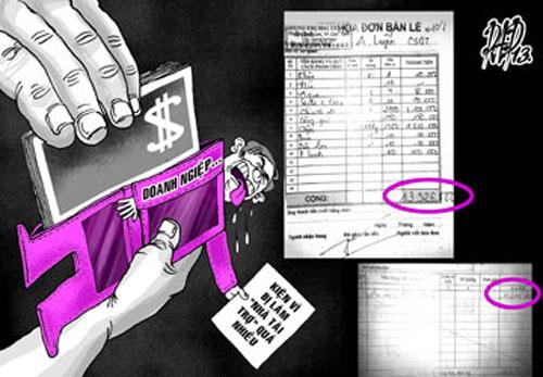 """Vụ """"ép DN trả tiền"""": CSGT tạm thôi chức - 2"""