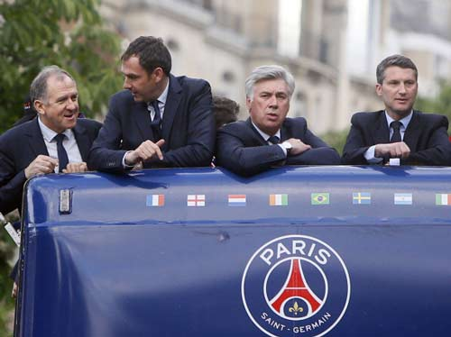 HLV Ancelotti chưa rõ tương lai - 1