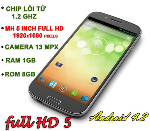 Saigonphone ra mắt siêu smartphone Full HD giá rẻ - 4