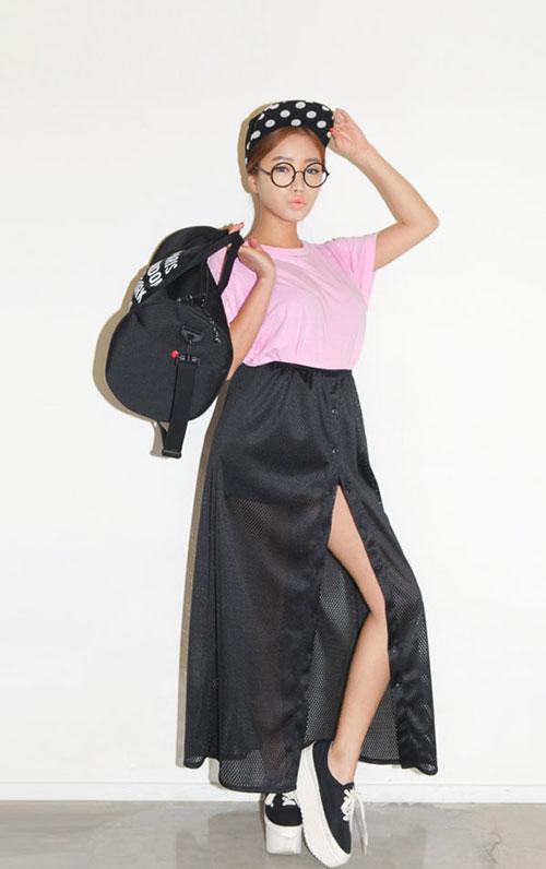 Cách mặc váy maxi chống nắng hiệu quả - 11