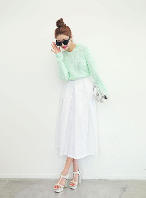Cách mặc váy maxi chống nắng hiệu quả - 10