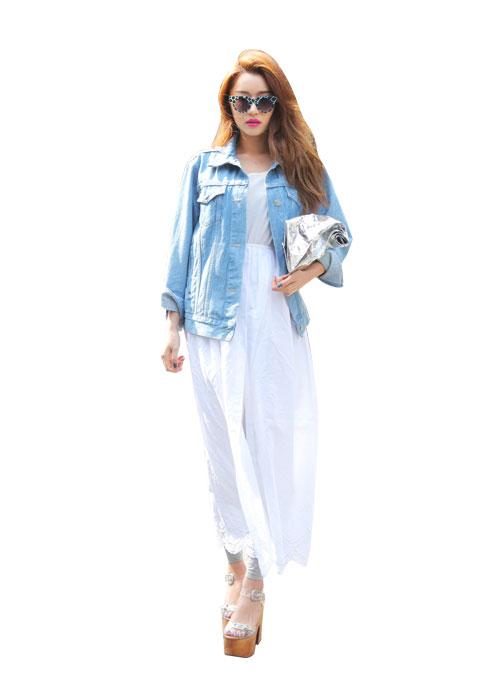 Cách mặc váy maxi chống nắng hiệu quả - 4