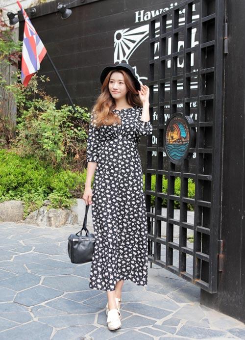 Cách mặc váy maxi chống nắng hiệu quả - 14