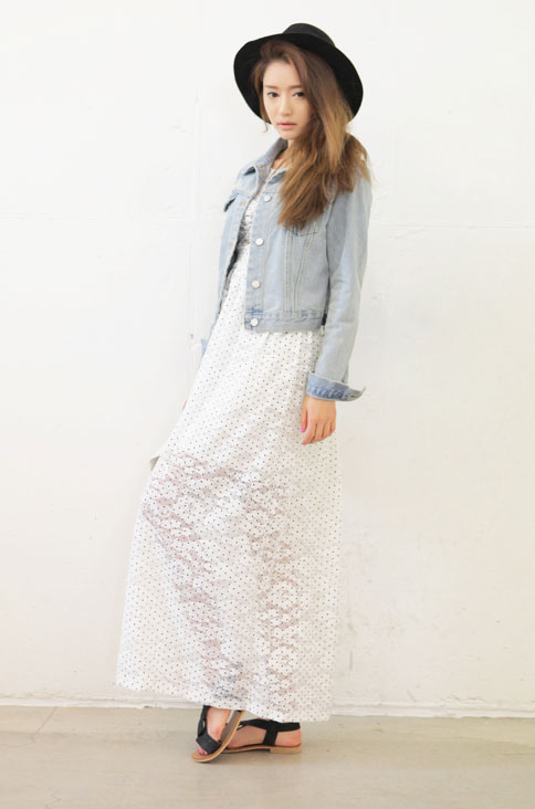 Cách mặc váy maxi chống nắng hiệu quả - 7