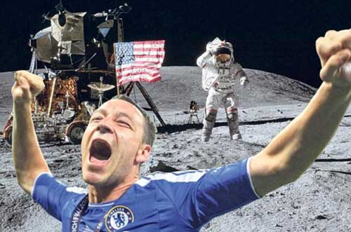 Terry vô duyên ăn mừng chức VĐ - 3
