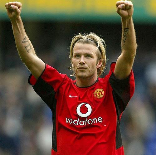 """Beckham và 10 kiểu tóc """"để đời"""" - 5"""