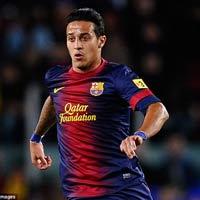 Barca bán Thiago, MU & Man City vào cuộc
