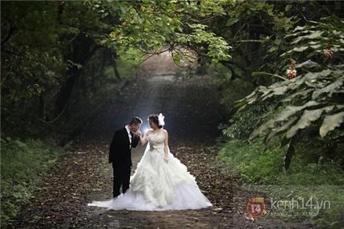 Ảnh cưới đẹp lung linh của ca sĩ Mỹ Dung - 6