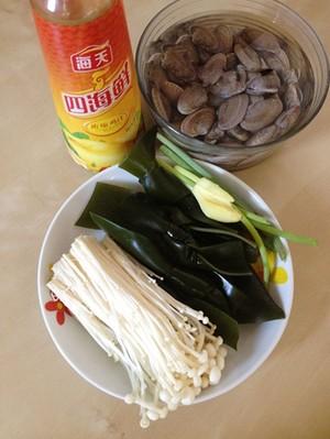 Canh ngao nấu nấm ngọt mát ngày hè - 1