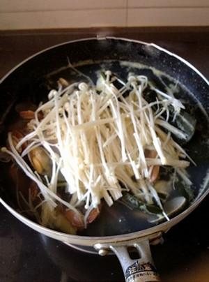 Canh ngao nấu nấm ngọt mát ngày hè - 7