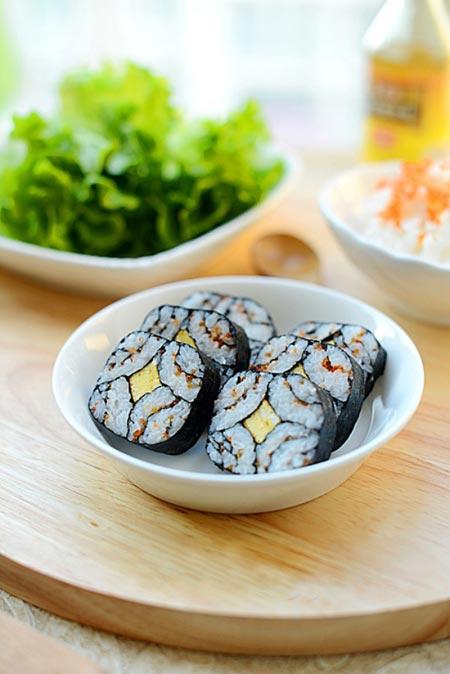 Cách làm sushi độc đáo, đẹp mắt - 9