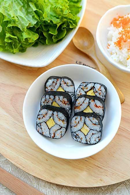 Cách làm sushi độc đáo, đẹp mắt - 7