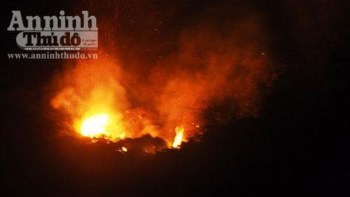 Nóng đỉnh điểm, 30ha rừng cháy suốt 12 tiếng - 1