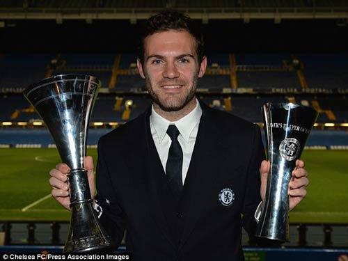 Mata, Lampard được vinh danh tại Chelsea - 1