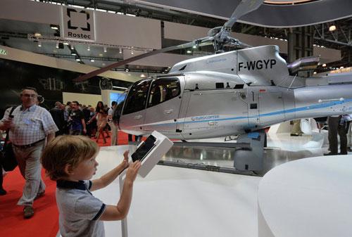Chùm ảnh: Triển lãm trực thăng quốc tế ở Nga - 1