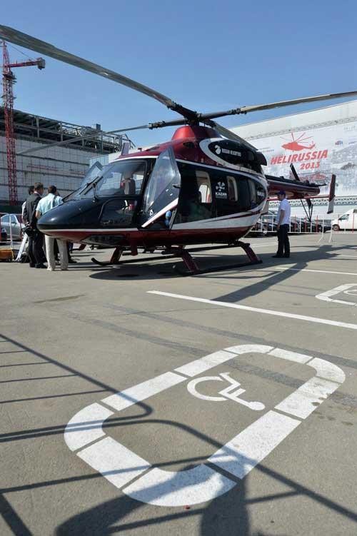 Chùm ảnh: Triển lãm trực thăng quốc tế ở Nga - 10
