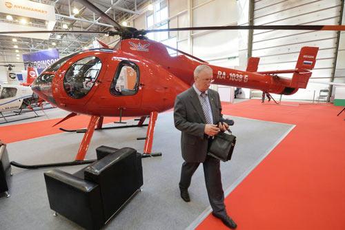 Chùm ảnh: Triển lãm trực thăng quốc tế ở Nga - 11