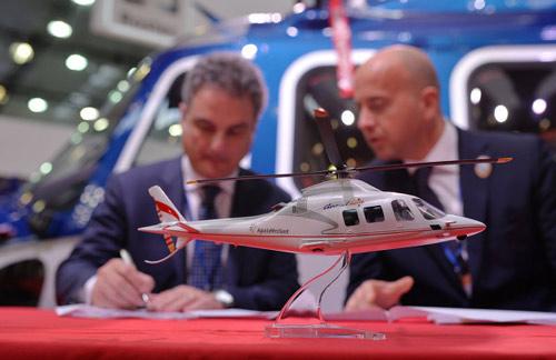 Chùm ảnh: Triển lãm trực thăng quốc tế ở Nga - 3