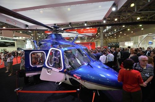 Chùm ảnh: Triển lãm trực thăng quốc tế ở Nga - 4