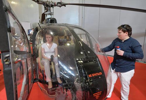 Chùm ảnh: Triển lãm trực thăng quốc tế ở Nga - 6
