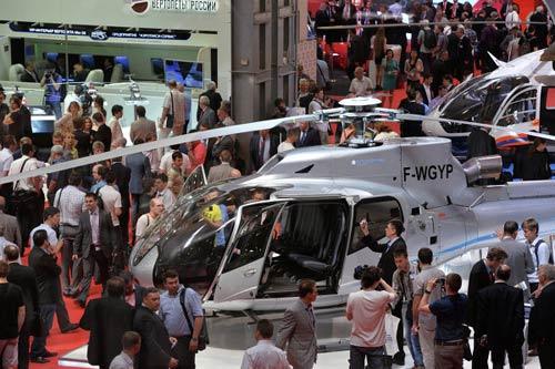 Chùm ảnh: Triển lãm trực thăng quốc tế ở Nga - 8