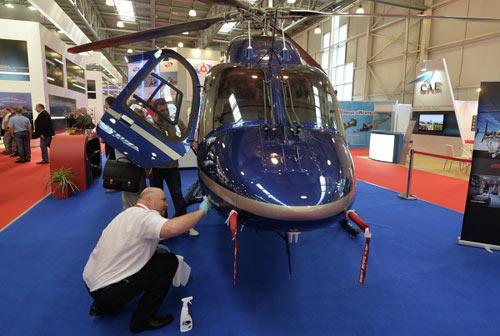 Chùm ảnh: Triển lãm trực thăng quốc tế ở Nga - 9