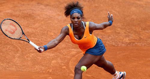 Serena - Navarro: Sức mạnh khủng khiếp (TK Rome Open) - 1