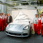 Ô tô - Xe máy - Porsche sản xuất chiếc Panamera thứ 100.000