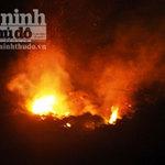 Tin tức trong ngày - Nóng đỉnh điểm, 30ha rừng cháy suốt 12 tiếng