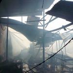 Tin tức trong ngày - Xưởng gỗ cháy lớn, khu dân cư hoảng loạn