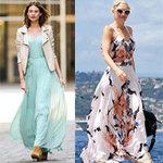 Thời trang - Học mỹ nhân Hollywood đẹp với váy maxi