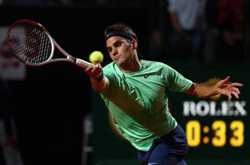 Federer - Janowicz: Gừng càng già càng cay (TK Rome Masters) - 1