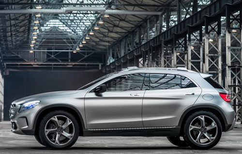 Mercedes-Benz GLA: Chàng dũng sĩ tí hon - 1