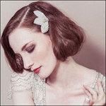 Phụ kiện đơn giản cho mái tóc cô dâu
