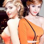 "Thời trang - Andrea Aybar ""cưỡng ép"" vòng ngực đầy"