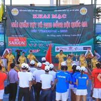 Khai mạc giải Quần vợt VĐ đồng đội QG
