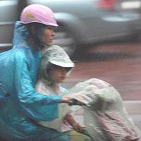 Thủ đô Hà Nội có lúc có mưa