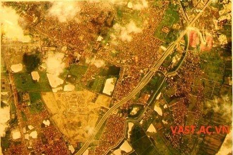 Những hình ảnh chụp từ vệ tinh VNREDSAT-1