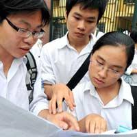 Trả giấy báo dự thi ĐH, CĐ cuối tháng 5