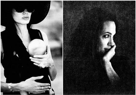 Ảnh hiếm của Jolie qua ống kính B.Pitt - 3
